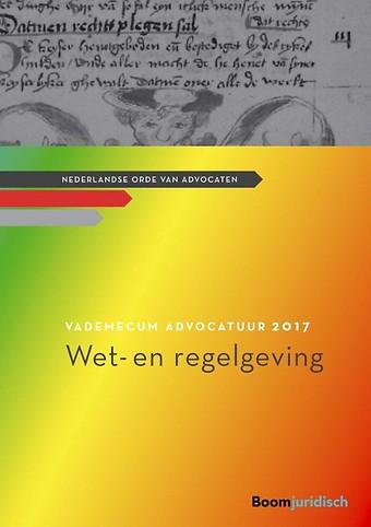 Vademecum Advocatuur 2017