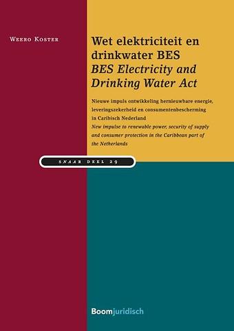 Wet Elektriciteit en Drinkwater BES Eilanden/BES Electricity and Drinking Water Act