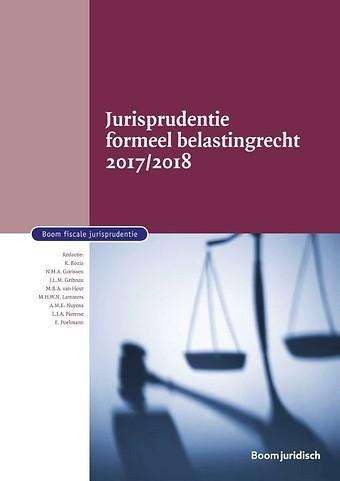 Jurisprudentie formeel belastingrecht 2017/2018
