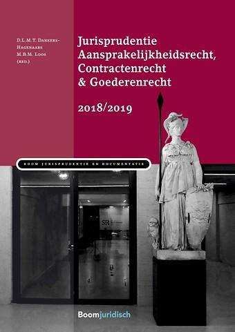 Jurisprudentie aansprakelijkheidsrecht & contractenrecht 2018/2019