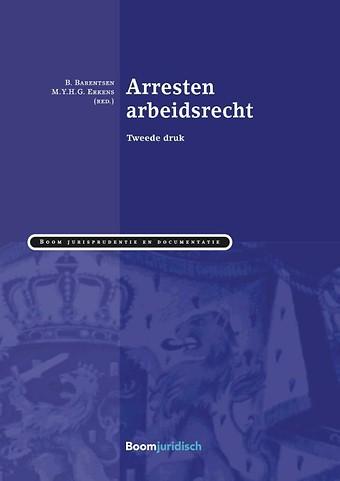 Arresten arbeidsrecht 2017/2018