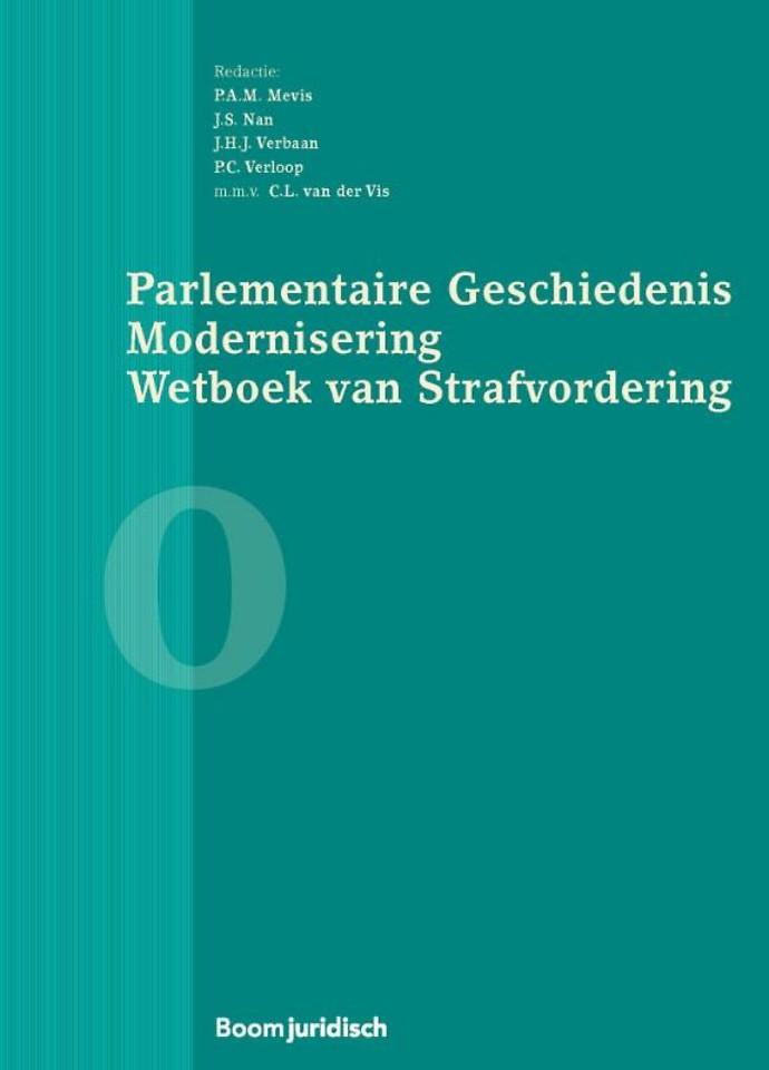 Parlementaire Geschiedenis Modernisering Wetboek van Strafvordering - Boek 0