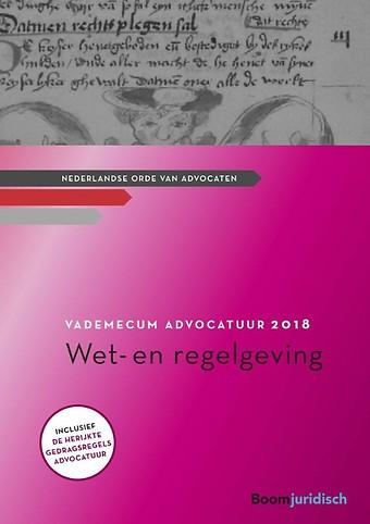 Vademecum Advocatuur 2018