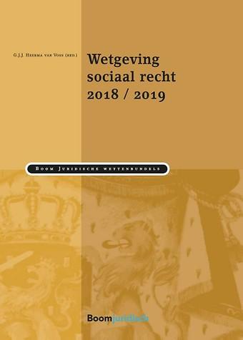 Wetgeving sociaal recht 2018/2019