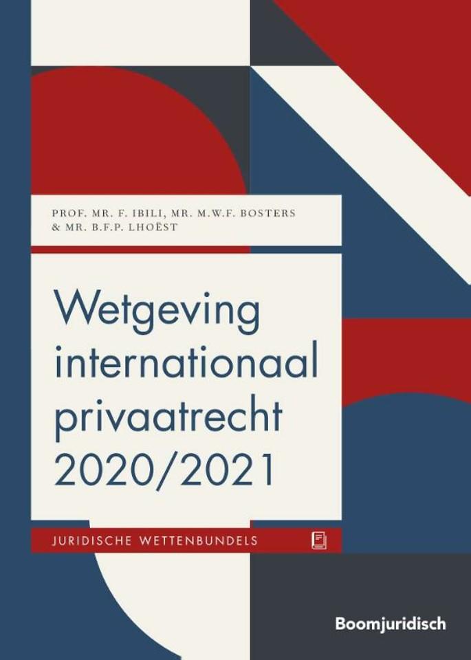 Wetgeving internationaal privaatrecht 2020/2021