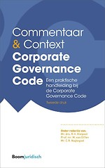 Commentaar & Context Corporate Governance Code