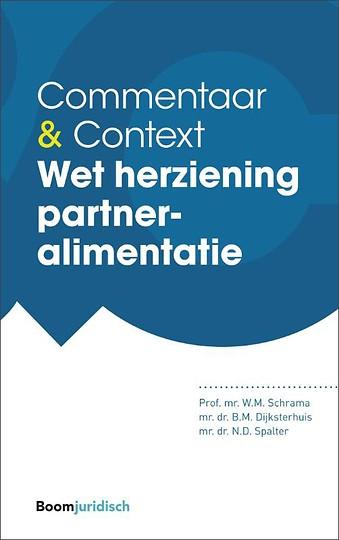 Commentaar & Context Wet herziening partneralimentatie