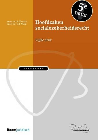 Hoofdzaken socialezekerheidsrecht
