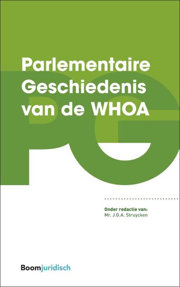 Parlementaire Geschiedenis van de WHOA