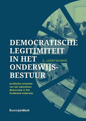 Democratische legitimiteit in het onderwijsbestuur