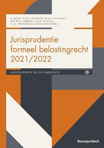 Jurisprudentie formeel belastingrecht 2021/2022