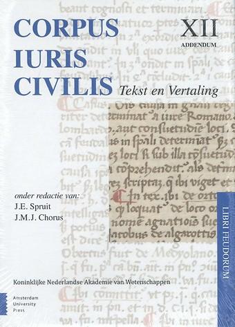 Corpus Iuris Civilis XII: Addendum