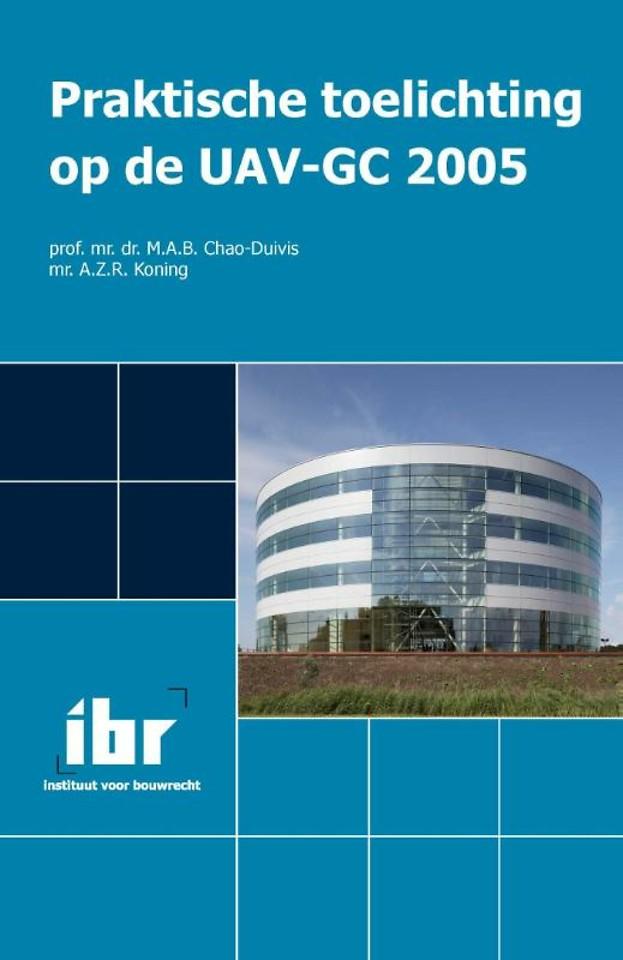 Praktische toelichting op de UAV-GC 2005