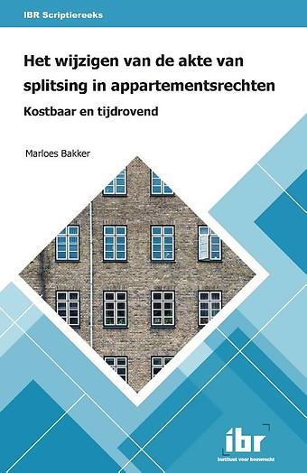 Het wijzigen van de akte van splitsing in appartementsrechten