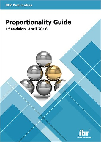 Proportionality Guide - 1st revision, April 2016