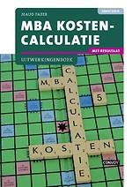 MBA kostencalculatie Uitwerkingenboek