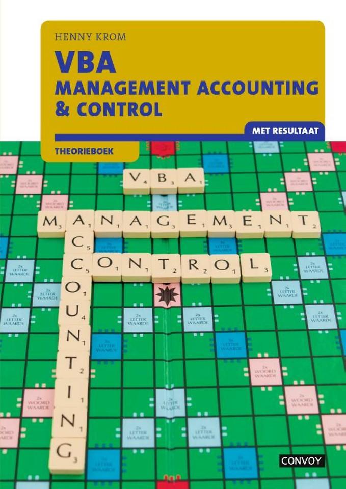 VBA Management Accounting & Control met resultaat Theorieboek