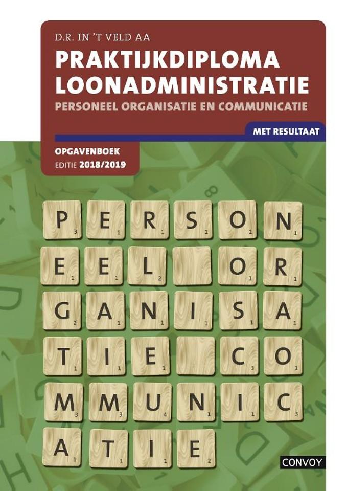 PDL Personeel Organisatie en Communicatie 2018/2019 Opgavenboek