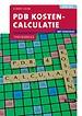 PDB Kostencalculatie met resultaat - Theorieboek