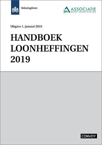 Handboek Loonheffingen 2019