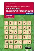 PDL Personeel Organisatie Communicatie 2021/2022 Theorieboek