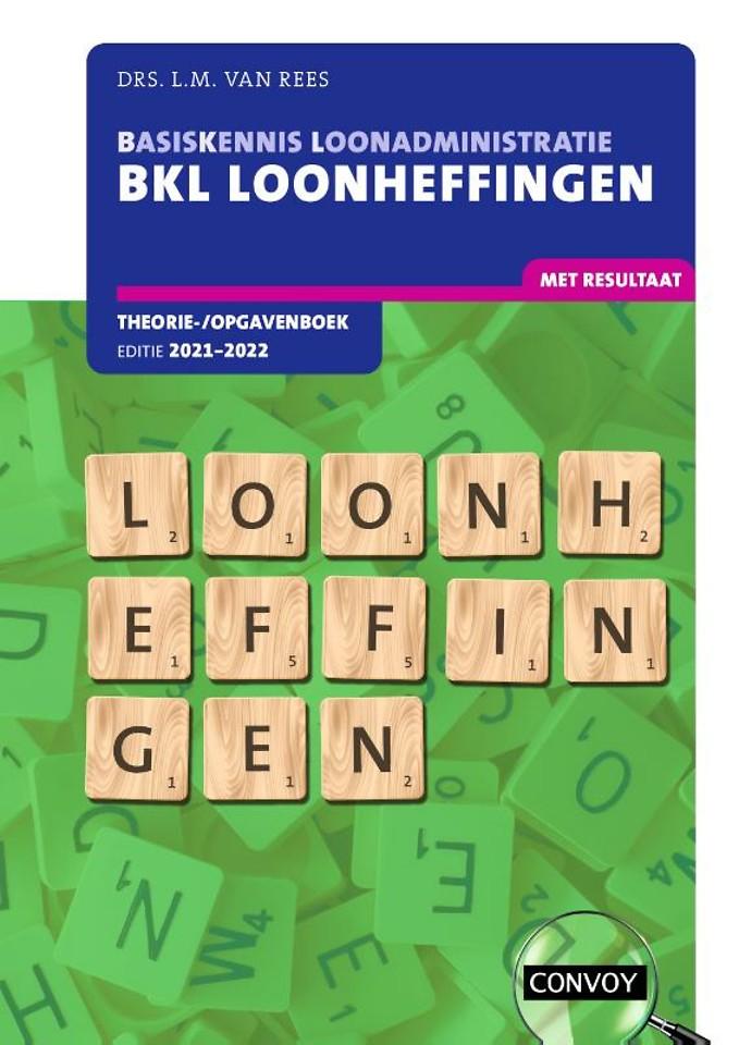 BKL Loonheffingen 2021-2022