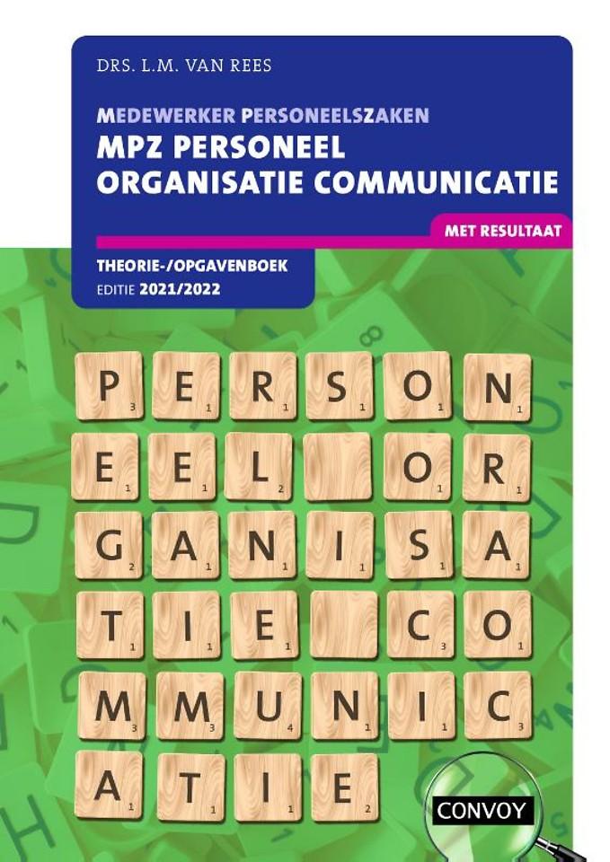 MPZ Personeel Organisatie Communicatie Theorie-/Opgavenboek 2021/2022