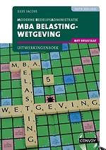MBA Belastingwetgeving met resultaat 2021/2022 Uitwerkingenboek