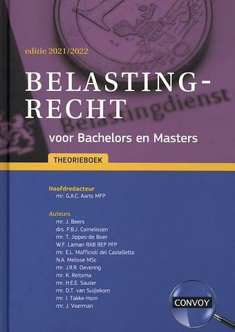 Belastingrecht voor Bachelors en Masters Theorieboek 2021-2022