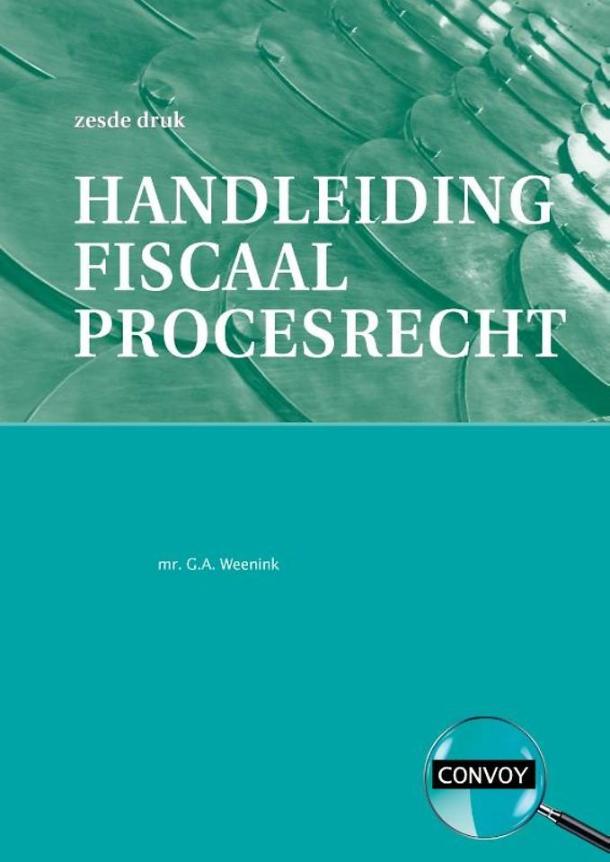 Handleiding fiscaal procesrecht
