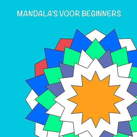 Mandala Kleurplaten Bestellen.Mandala S Voor Beginners Mandala Kleurboek Door Tom Koreman