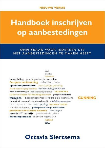 Handboek Inschrijven Op Aanbestedingen Door Octavia Siertsema Boek