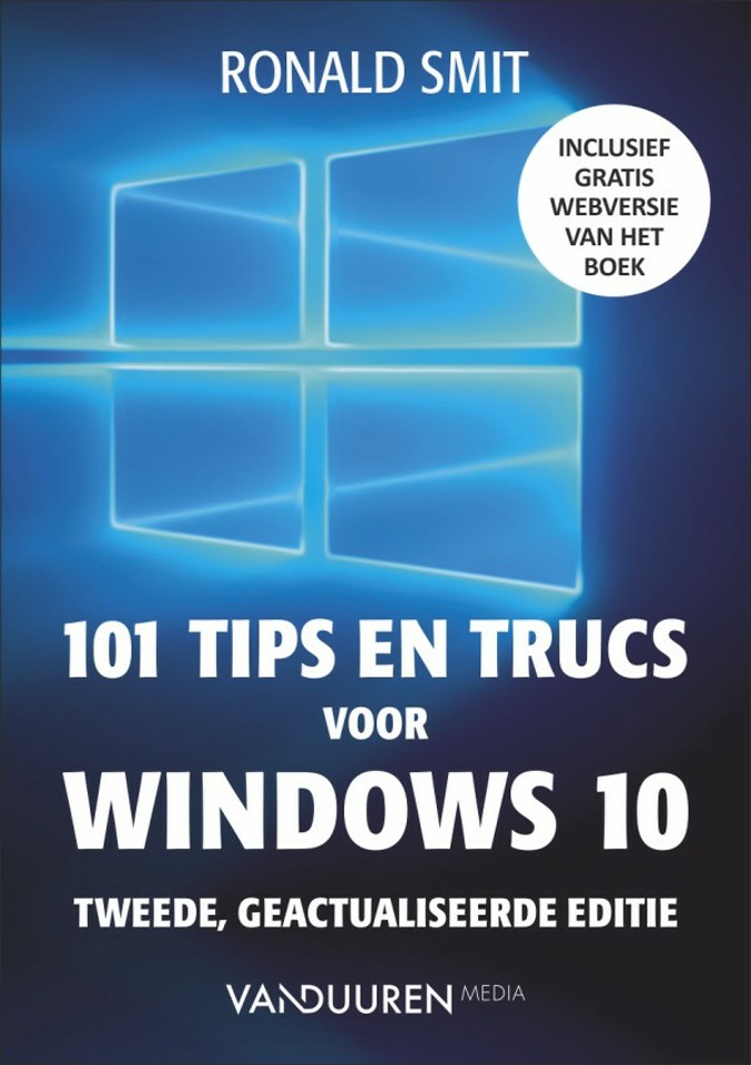 101 tips en trucs voor Windows 10 - Editie 2018