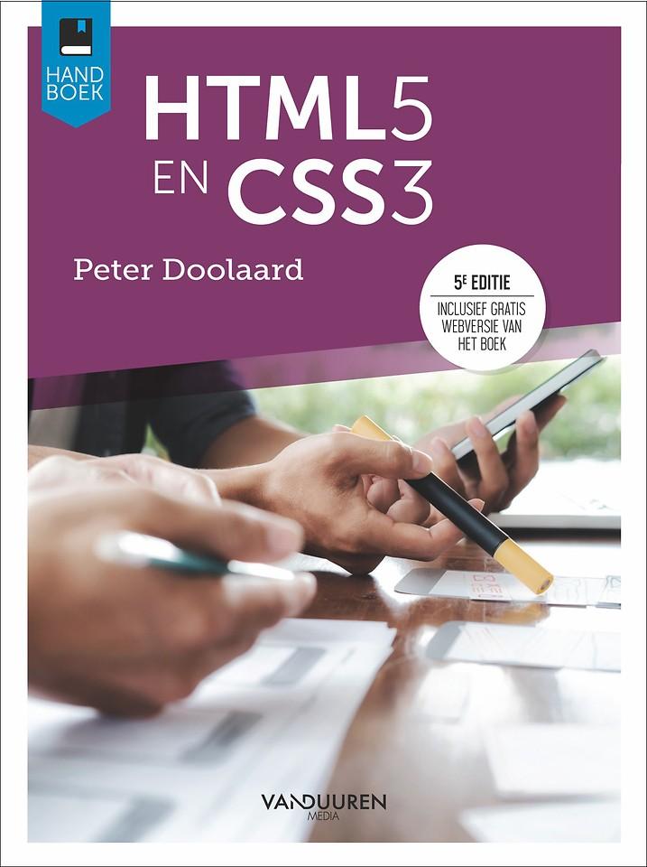 Handboek HTML5 en CSS3, 5e editie