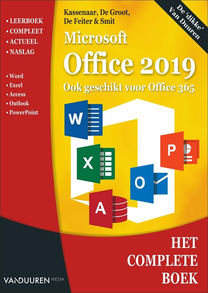 Het Complete Boek: Microsoft Office 2019