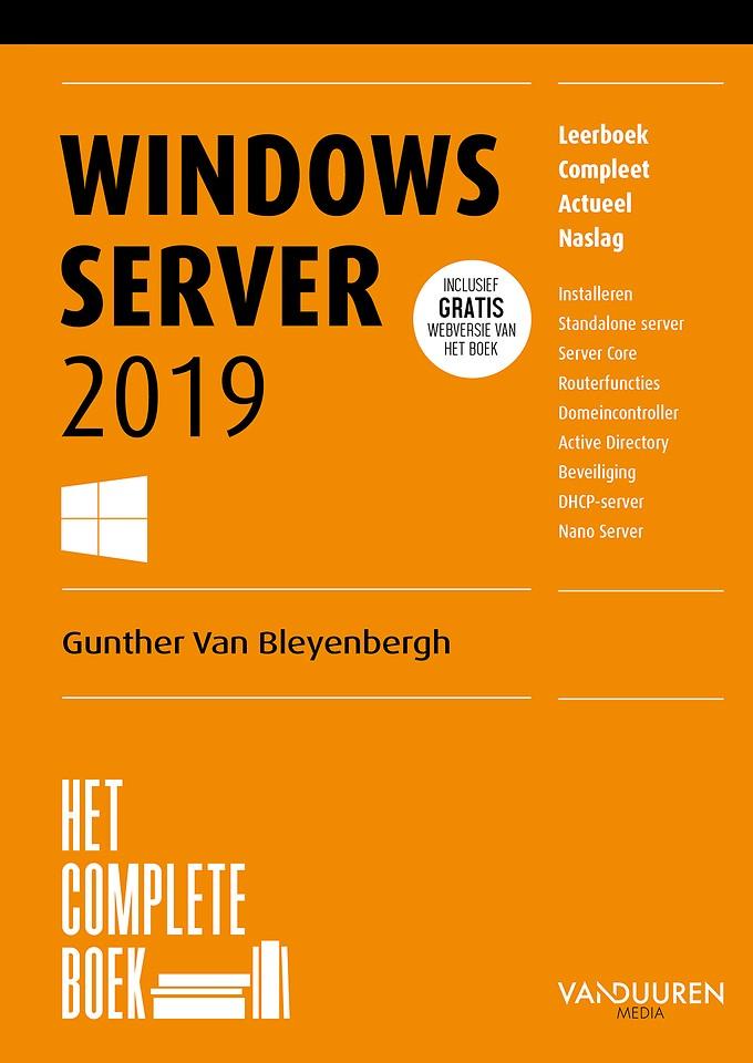 Het Complete Boek: Windows Server 2019