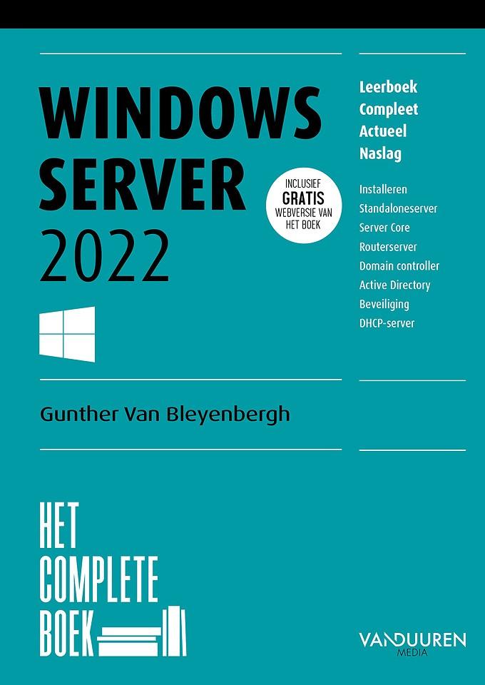 Het Complete Boek: Windows Server 2022