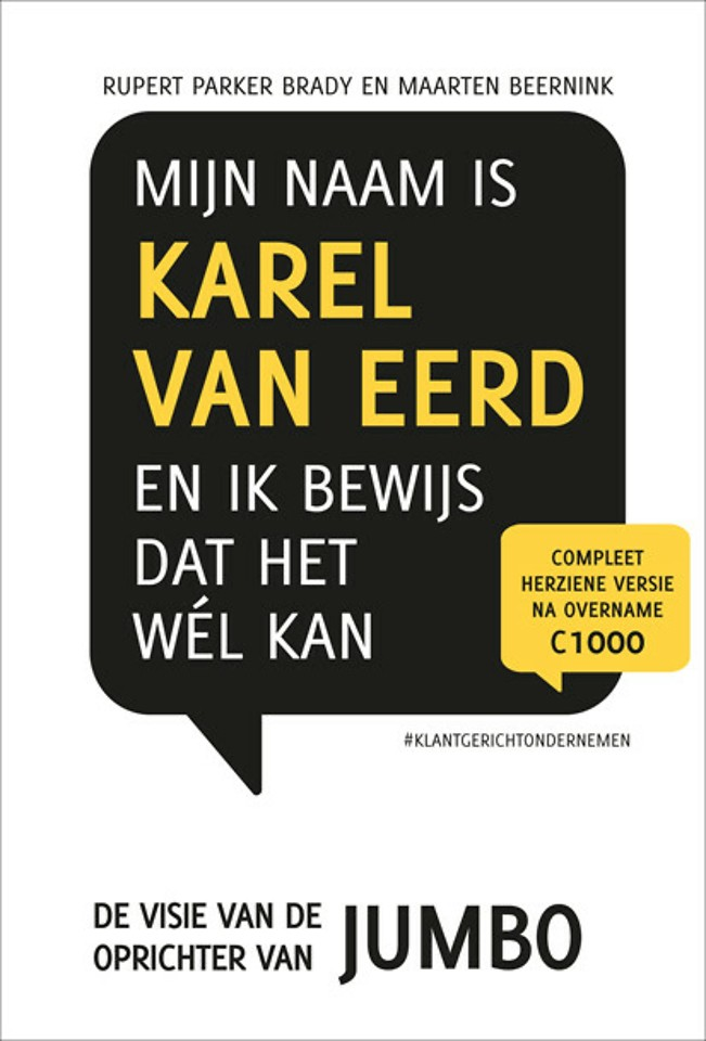 Mijn naam is Karel van Eerd en ik bewijs dat het wél kan