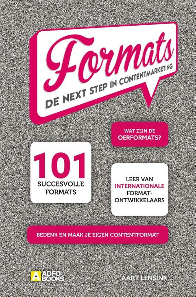 Formats - De next step in contentmarketing