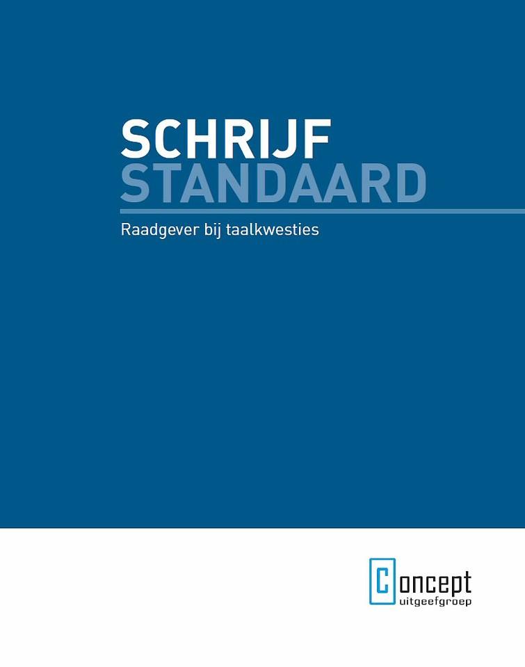 Schrijfstandaard (BVO-omslag)