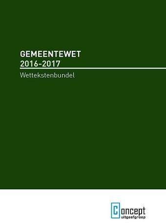 Gemeentewet 2016-2017