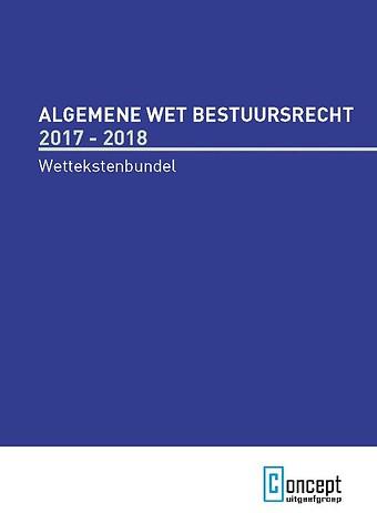 Algemene Wet Bestuursrecht 2017-2018
