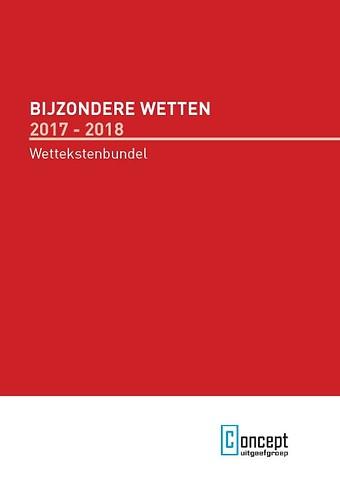 Bijzondere Wetten en APV 2017-2018