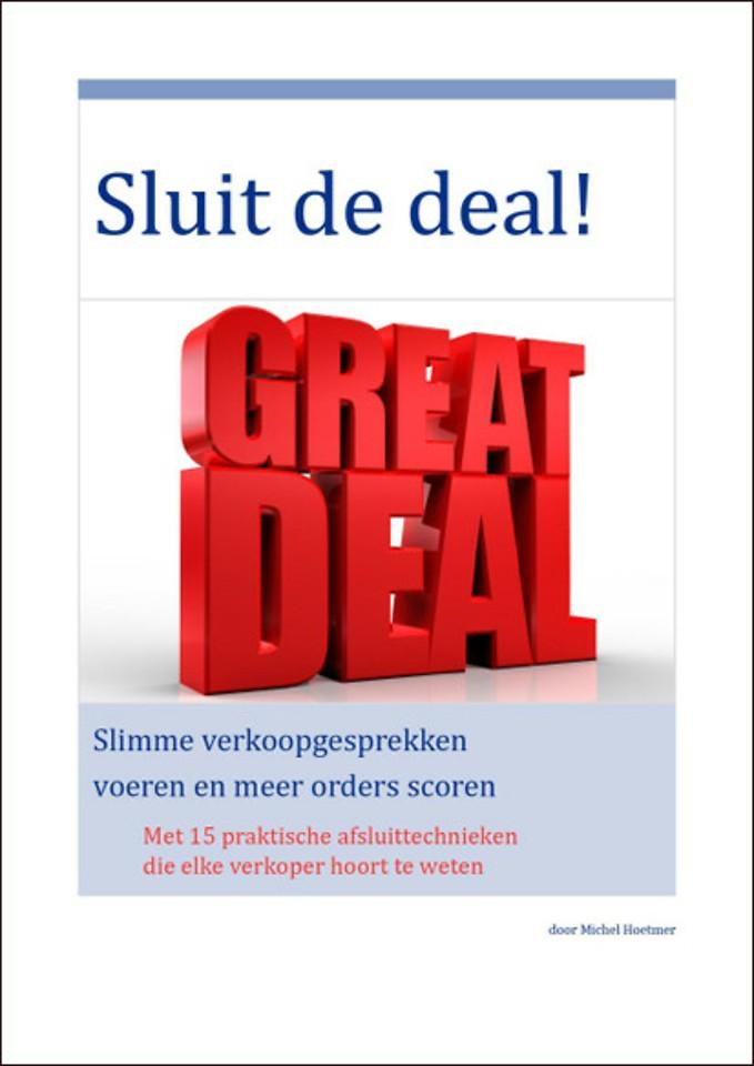 Sluit de deal!