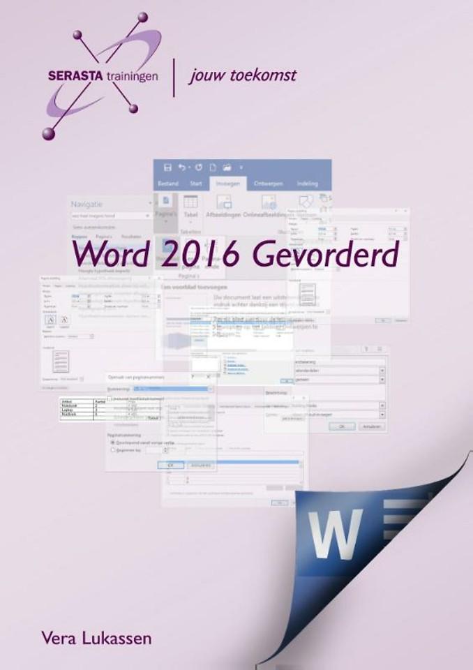 Word 2016 Gevorderd