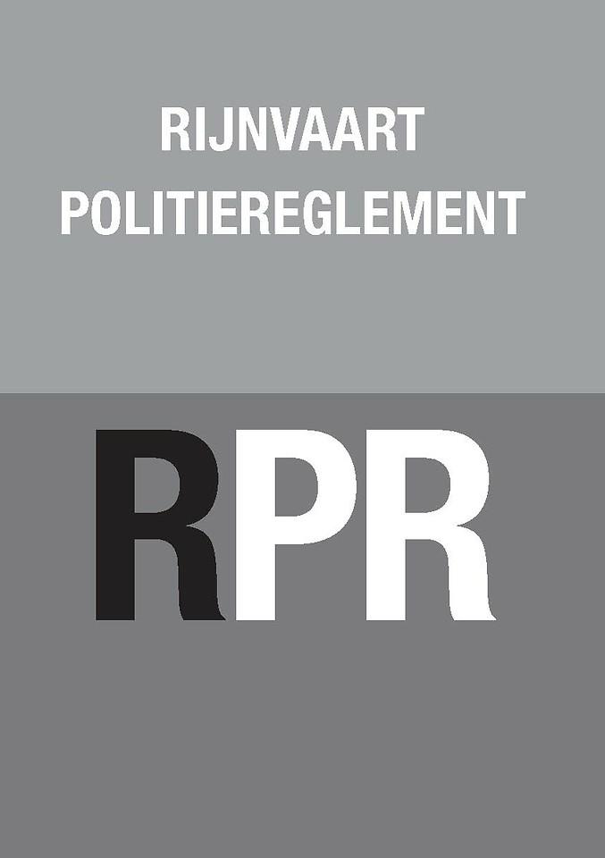 Rijnvaart Politiereglement RPR (zakboekje)