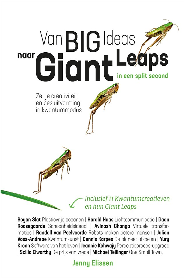 Van Big Ideas naar Giant Leaps - in een split second