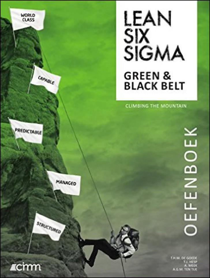 Lean Six Sigma Green Belt & Black Belt Oefenboek