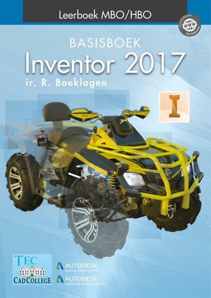 Inventor 2017 - Basisboek MBO/HBO
