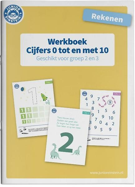 Ongebruikt Rekenen Cijfers 0 tm 10 voor groep 2 en 3 Werkboek door (paperback KI-98